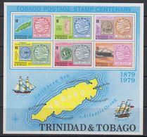 Trinidad & Tobago 1979 Tobago Postage Stamp Centenary M/s ** Mnh (F7623) - Trinidad En Tobago (1962-...)