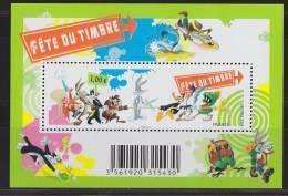 = Fête Du Timbre 2009 Personnages Dessins Animés Looney Tunes Des Studios Warner Bros, F4341, Bloc - Neufs