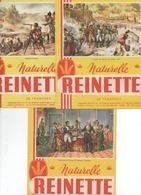 LOT De 3 Buvards Biscotte Reinette ( THEME Histoire De France ) - Biscottes