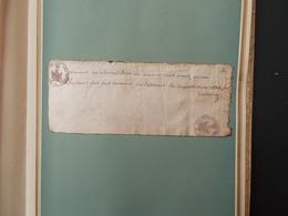 LITTERATURE.FAC-SIMILE.LA DERNIERE PENSEE DE VOLTAIRE MOURANT.. - Old Paper