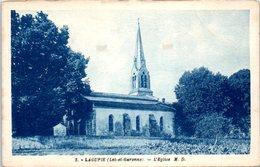 47 - LAGUPIE --  L'Eglise - France