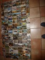 Lot Vrac De 110 CARTES POSTALES De France Etc(Cartes Postales Moderne (15cm X 10cm) Comprenant :scènes Diverses, Etc - Cartes Postales