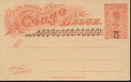 BELGIAN CONGO  PS 1909 ISSUE 34L B UNUSED - Entiers Postaux
