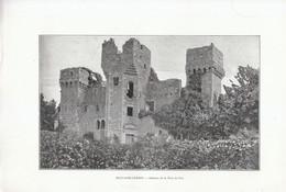 1901 - Phototypie - Fontaine-Guérin (Maine-et-Loire) - Le Château De La Tour Du Pin - FRANCO DE PORT - Old Paper