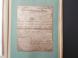 HISTOIRE.FAC-SIMILE.LE SOUS LIEUTENANT BUONAPARTEJURE DE MOURIR POUR DEFENDRE LA PATRIE. - Old Paper