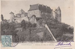Cp , 03 , CHANTELLE , Château Des Ducs De Bourbon - France