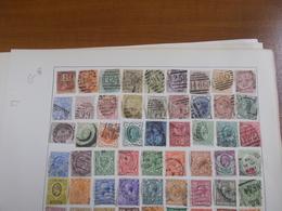 Lot N° 643GRANDE BRETAGNE Collection Neufs Ou Obl. Sur Page D'albums .. No Paypal - Sammlungen (im Alben)