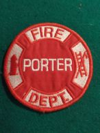 Vigili Del Fuoco Patch Fire Porter Dept - Pompieri