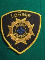 Vigili Del Fuoco Patch La Salle Service D'incendie - Firemen