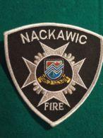 Vigili Del Fuoco Patch Nackawic Fire - Pompieri