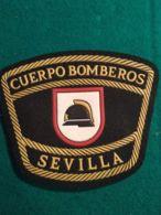 Vigili Del Fuoco Patch  Cuerpo Bomberos Sevilla Spagna - Firemen