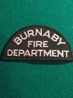 Vigili Del Fuoco Patch  Burnaby Fire Department - Pompieri