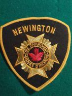 Vigili Del Fuoco Patch  Newington Service D'incendie Canada - Pompieri