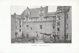 1901 - Phototypie - Montsoreau (Maine-et-Loire) - Le Château - FRANCO DE PORT - Old Paper