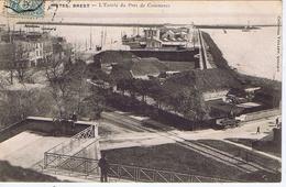 FINISTERE - BREST - L'Entrée Du Port De Commerce - Brest