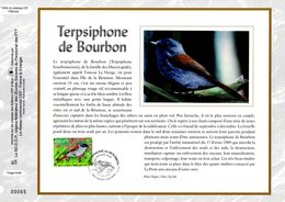 """"""" TERPSIPHONE DE BOURBON """" Sur Feuillet CEF 1er Jour En SOIE De 2003 """" N° 1644s. N° YT 3551. FDC - FDC"""