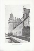 1901 - Phototypie - Le Plessis-Bourré (Maine-et-Loire) - Le Château - FRANCO DE PORT - Old Paper