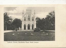 Kuala Lumpur  Catholic Church Brickfields Road  No 24 Federal Rubber Stamp - Malaysia