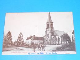 70 ) La Villedieu-en-fontenette - Place De L'eglise Et Des écoles  - Année 1937 - EDIT : Breger - France