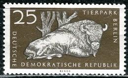A12-50-4) DDR - Michel 5552 - ** Postfrisch (A) - 25Pf  Tierpark Berlin, Wisent - [6] République Démocratique
