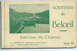 Souvenir De Beloeil Intérieur Du Château ( Carnet De 10 Cartes ) - Beloeil