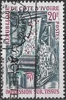 IVORY COAST 1970 Industrial Expansion - 20f. Textile-printing AVU - Côte D'Ivoire (1960-...)