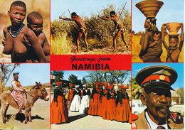 Namibia Postcard Sent To Denmark 22-8-1992 (Beautiful Namibia) - Namibia