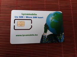 GSM Card Lyca Mobile Belgium (Mint,Neuve) - Belgien