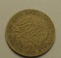 1985 - Afrique Centrale - Central African State - 5 FRANCS - BEAC - KM 7 - Monnaies