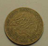1985 - Afrique Centrale - Central African State - 5 FRANCS - BEAC - KM 7 - Autres – Afrique