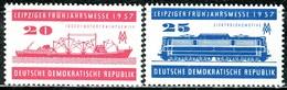 DDR - Mi 559 / 560 - ** Postfrisch (A) - 20-25Pf           Leipziger Frühjahrsmesse - [6] République Démocratique