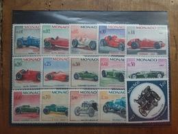 MONACO Anni '60 - Automobili Da Corsa Nn. 708/21+A91 Nuovi ** + Spese Postali - Monaco
