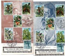 2 Tarjetas Con Matasellos De Feria Nacional Del Libro De 1972 - 1931-Hoy: 2ª República - ... Juan Carlos I