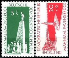DDR - Mi 566 / 567 - ** Postfrisch (B) - 5+5-20+10Pf  Aufbau Nationaler Gedenkstätten - [6] République Démocratique