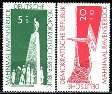 DDR - Mi 566 / 567 - ** Postfrisch (D) - 5+5-20+10Pf  Aufbau Nationaler Gedenkstätten - [6] République Démocratique