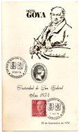 Tarjeta  Con Matasellos Commemorativo Hermandad Valencia-zaragoza Hotel Goya - 1931-Hoy: 2ª República - ... Juan Carlos I