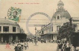 /!\ 8482 - CPA/CPSM - Asie  : Tonkin : Hanoi : Rue Paul Bert - Vietnam