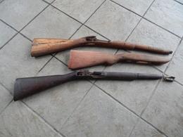 Bois De Fusils/Mousqueton/A Voir!!!!! - Armes Neutralisées