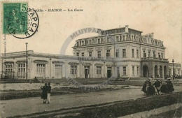 /!\ 8494 - CPA/CPSM - Asie  : Tonkin : Hanoi : La Gare - Vietnam