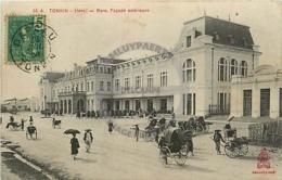 /!\ 8495 - CPA/CPSM - Asie  : Tonkin : Hanoi : La Gare, Facade Extérieure - Viêt-Nam