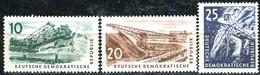 DDR - Mi 569 / 571 - ** Postfrisch (A) - Kohlebergbau - [6] République Démocratique
