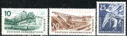 DDR - Mi 569 / 571 - ** Postfrisch (B) - Kohlebergbau - [6] République Démocratique