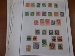 Lot N° 638 BELGIQUE Collection Neufs Ou Obl. Sur Page D'albums .. No Paypal - Timbres