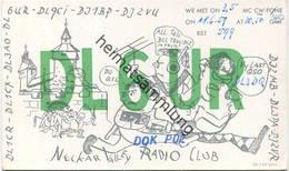 QSL - Funkkarte - DL6UR - 73101 Aichelberg - 1959 - Amateurfunk