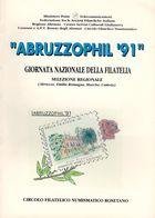 ABRUZZOPHIL ROSETO '91 - GIORNATA NAZIONALE DELLA FILATELIA SELEZIONE REGIONALE 22/23 LUGLIO 1991 - Exposiciones Filatélicas