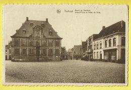 * Torhout - Thourout * (Nels, Drukkerij Firma Becelaere) Markt En Stadhuis, Grand'Place Et Hotel De Ville, Rare - Torhout