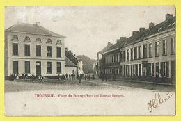 * Torhout - Thourout * (Wereldpostvereeniging) Place Du Bourg Nord Et Rue De Bruges, Animée, Rare, Unique, TOP - Torhout
