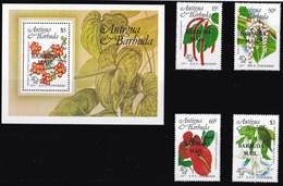 BARBUDA 1984 FLORA - Antigua E Barbuda (1981-...)