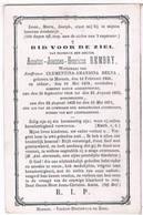 Dp. Dokter,Schepen,Burgemeester. Rembry Amatus. Wed. Delva Clementina. ° Meenen 1806 † Meenen 1878 - Religion &  Esoterik