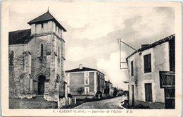 47 - GAUJAC --  Quartier De L'Eglise - France
